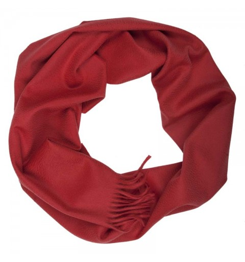 CASHMERE SCARF 37X180 CM RED