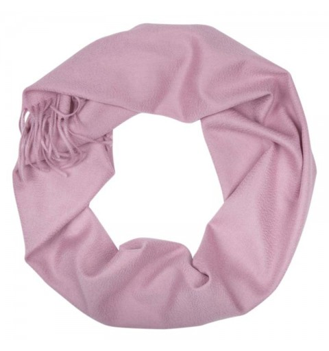 CASHMERE SCARF 37X180 CM PINK